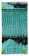 Temple Roofs Bath Towel
