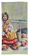 Temple-side Vendor Bath Towel