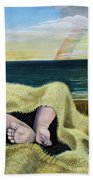 Ten Precious Toes Bath Towel