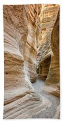 Tent Rocks Slot Canyon 2 - Tent Rocks National Monument New Mexico Bath Towel