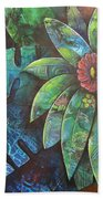 Terra Pacifica By Reina Cottier Nz Artist Bath Towel