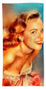 Terry Moore, Vintage Hollywood Actress Bath Towel