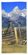Teton Corral Bath Towel