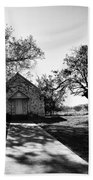 Texas Country Church Hand Towel
