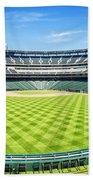 Texas Rangers Ballpark Waiting For Action Bath Towel