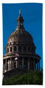 Texas State Capitol Bath Towel