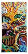 Texture Abstract  Hand Towel