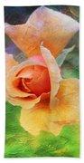 Textured Rose 3 Bath Towel