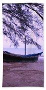 Thai Fishing Boat 04 Bath Towel