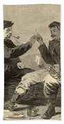 Thanksgiving Day In The Army Bath Towel
