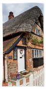 Thatched Cottages In Chawton 4 Bath Towel