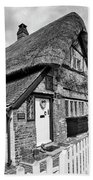 Thatched Cottages In Chawton 5 Bath Towel