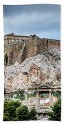 The Acropolis - Athens Greece Bath Towel