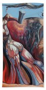 The Adam-eve Delusion Hand Towel