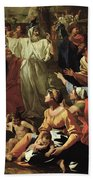 The Adoration Of The Golden Calf Hand Towel