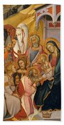 The Adoration Of The Magi Hand Towel