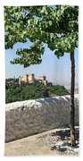 The Alhambra From Sacromonte Bath Towel