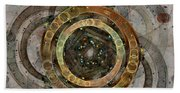 The Almagest - Homage To Ptolemy - Fractal Art Bath Towel