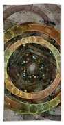 The Almagest - Homage To Ptolemy - Fractal Art Bath Towel