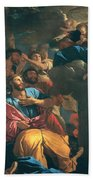 The Apparition Of The Virgin The St James The Great Bath Towel