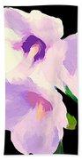 The Artful Hibiscus Hand Towel