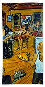 The Artist And The Fortune Teller Bath Towel