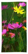 The Artistic Side Of Nature Hand Towel