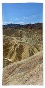 The Badlands Of Death Valley Bath Towel