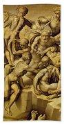 The Battle Of Cascina Bath Towel