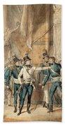 The Battle Of Hogland Bath Towel