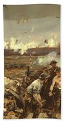 The Battle Of Vilmy Ridge Bath Towel