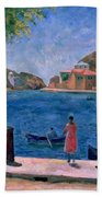 The Bay Of Balaklava Bath Towel