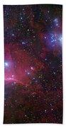 The Belt Stars Of Orion Bath Towel