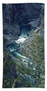 The Black Canyon Of The Gunnison Bath Towel