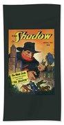 The Shadow The Black Circle Bath Sheet