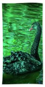 The Black Swan Hand Towel