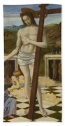 The Blood Of The Redeemer Bath Towel