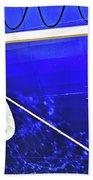 The Blue Ferry Bath Towel