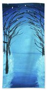 The Blue Forest Bath Towel
