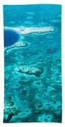 The Blue Hole Bath Towel