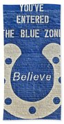 The Blue Zone Bath Towel