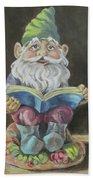 The Book Gnome Bath Towel