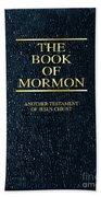 The Book Of Mormon Bath Towel