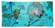 The Branches And The Moon Bath Towel