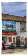 The Bull Pub Theydon Bois Panorama Bath Towel