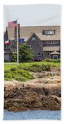 The Bush Compound Kennebunkport Maine Hand Towel