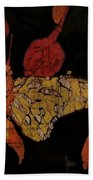The Butterfly Effect Bath Towel