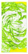 The Cabbage Rose Bath Towel