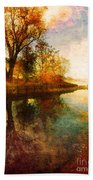 The Calm By The Creek Hand Towel