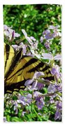 The Canadian Tiger Swallowtail Bath Towel